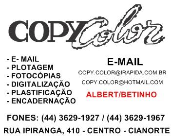 Anúncio COPY COLOR