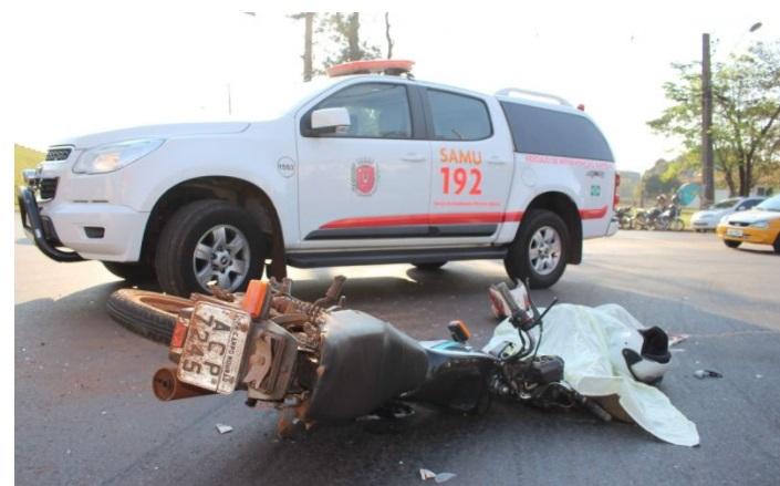 Imagem Jovem morre a caminho do trabalho após acidente na marginal da PR 323
