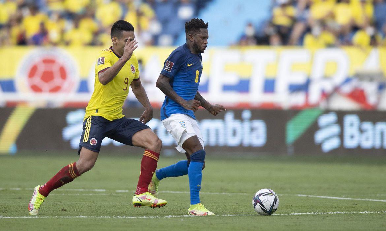 Imagem Brasil empata em 0 a 0 com a Colômbia pelas eliminatórias