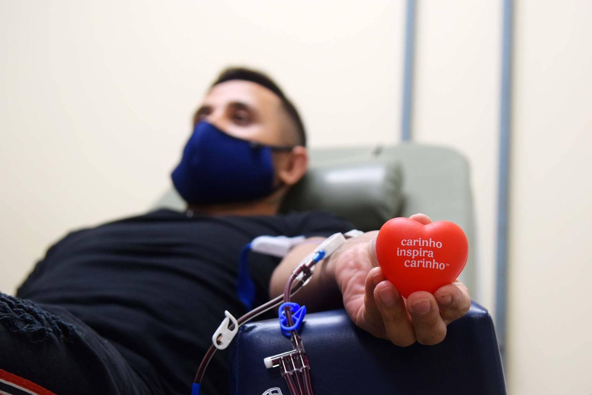 Imagem Secretaria da Saúde solicita doações de sangue de qualquer tipo
